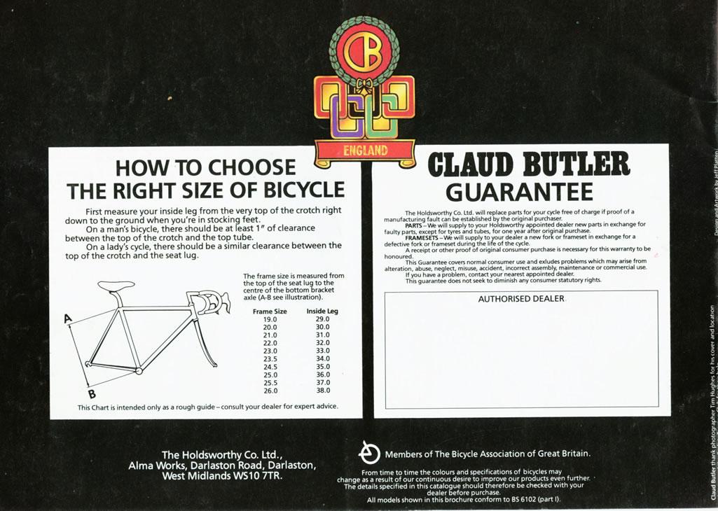 CB 1986 Rear Cover